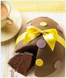 ciasto czekoladowe na wielkanoc