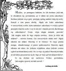 Anthony de Mello o miłości