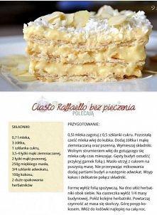 ciasto raffaello bez pieczenia :)