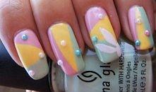 wielkanocny manicure