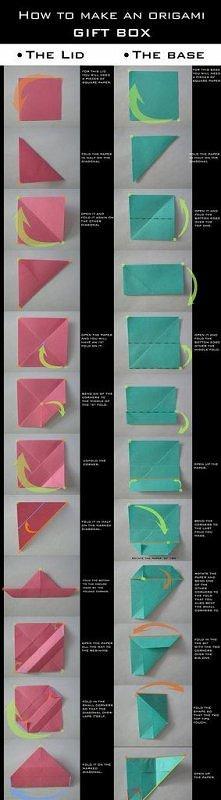 pudelko origami