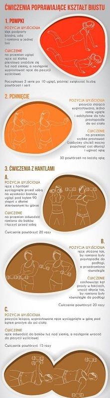 Ćwiczenia dla Pań chcących poprawić biust ;) Polecam :)
