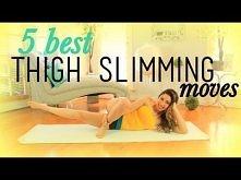 5 Best THIGH SLIMMING Exercises...  Ćwiczenia na wewnętrzną stronę ud :3