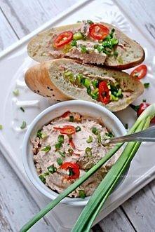 Pasta z tuńczyka i ricotty