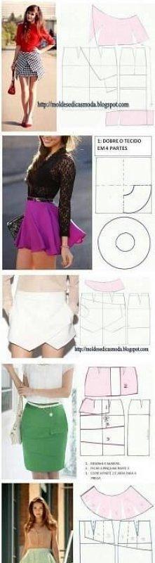 DIY: spódnica