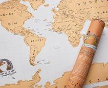 Mapka zdrapka - podróżuj, z...