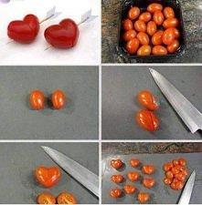 Dekoracyjne pomidorki ;)