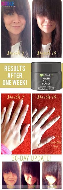 it works hair skin nails