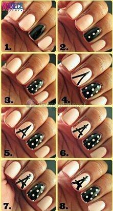 Super pomysł na manicure...