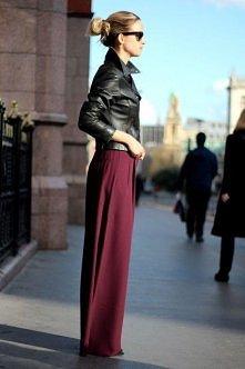 skóra + burgund