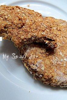 Ciasteczka zbożowe z musem jabłkowym:  Składniki na ok. jedną blachę ciastek:...