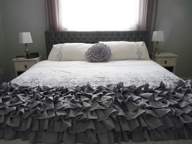 Przepiękne łóżko