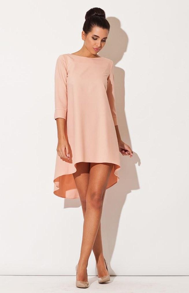 przepiękna pastelowa asymetryczna sukienka HIT!! | whitestripe.pl