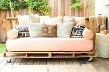 kanapa z palet DIY