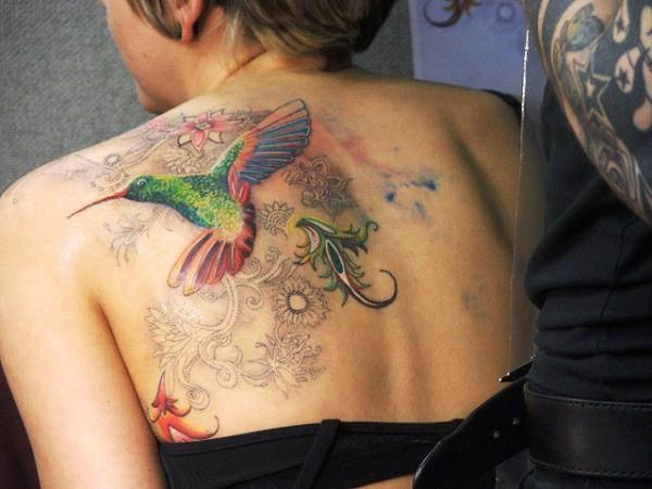 Koliber Na Tattoo Zszywkapl