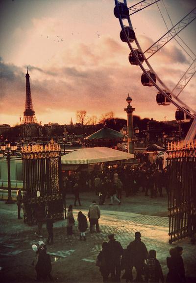Wesołe miasteczko we Francji ♥