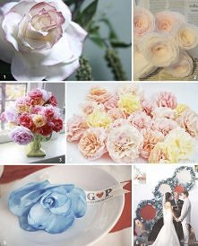 coffee filters roses