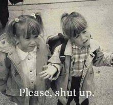 Sometimes just shut up