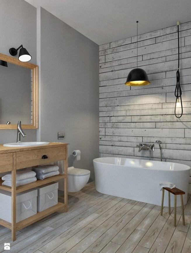 łazienka W Stylu Skandynawskim Na Wystrój Wnętrza Zszywkapl