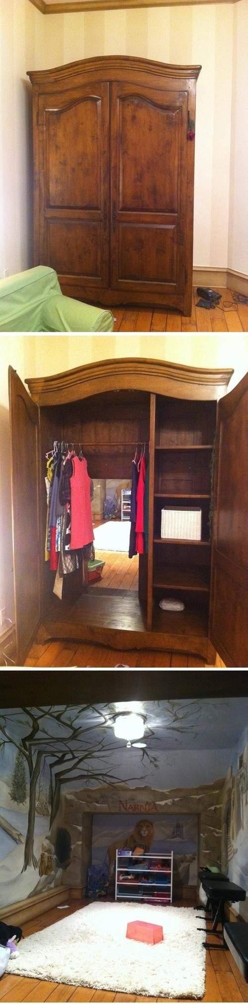 *** pokój dla dziecka - Narnia ***
