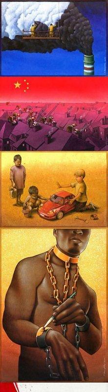 Kilka przekornych obrazków... dają trochę do myslenia