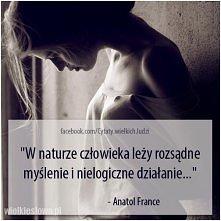 W naturze człowieka leży ro...