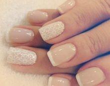 piękne żelowe paznokcie! *.*