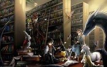 Książki skrywają prawdziwą magię :) Ciekawa jestem