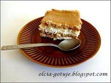 Ciasto z karmelem i śmietaną