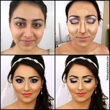 makijaz i konturowanie inspirowane tradycja Arabska