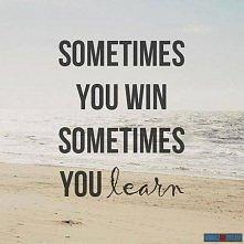 czasami wygrywasz...
