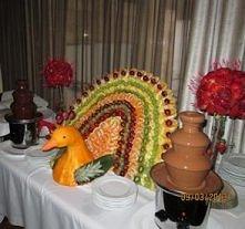 owoce w czekoladzie mniaaam