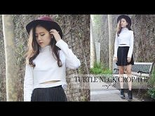 DIY Turtleneck Crop Top