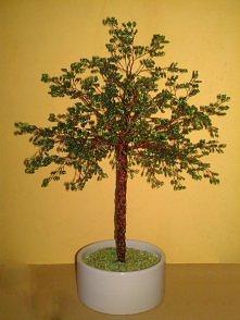 drzewko z koralików SPRZEDA...