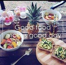 tak jest - dobrze jedzenie jest niezbędne, żeby Nas dzień się udał