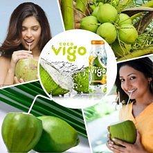 Woda kokosowa Coco Vigo jest bogata w witaminy, sole mineralne, mikroelementy...