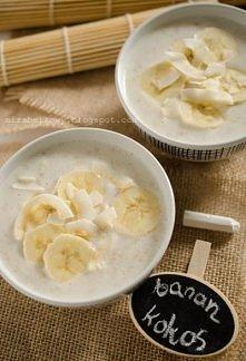 Owsianka bananowo-kokosowa ...