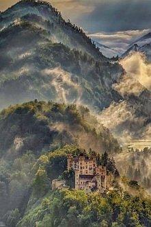 Zamek Hohenschwangau. Bawaria, Niemcy