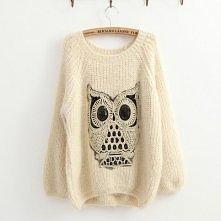 Słodki sweterek z sówką <3