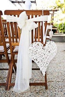 dekoracja krzeseł, jeśli od...