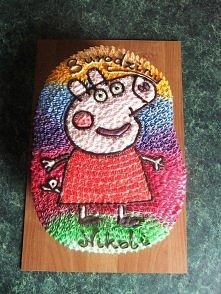 Pyszna świnka Peppa na urodziny dla malucha :-)