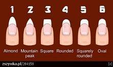a ty jak masz kształt pazurków?:)