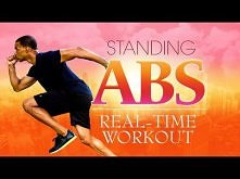10 Min Standing Abs Home Workout | Keeping It Real-Time Workout