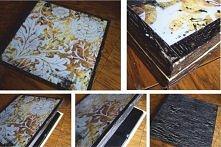 Decoupage. Drewniane pudełko. Kontakt: studio@zuzdesign.pl