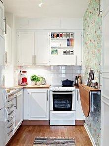 Wymarzona biała kuchnia.
