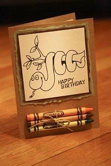 Ciekawa kartka urodzinowa :D