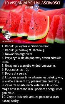 Uwielbiam arbuzy!