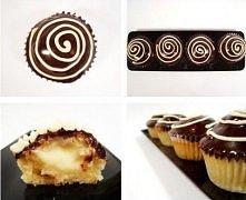 Boston cream cupcakes  Przepis: (na 24 małe lub 12 dużych babeczek)  125 g Pa...