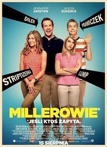 MILLEROWIE!!!  David Burke (Jason Sudeikis) jest pomniejszej klasy dealerem m...