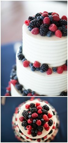 wedding cake- simple elegant